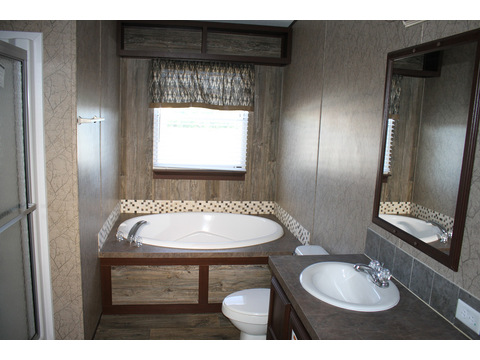 Master Bath - The Action Jackson MLP48A4 or 28483J by Palm Harbor Homes