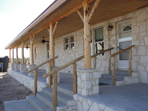 Stone Porches = Texas