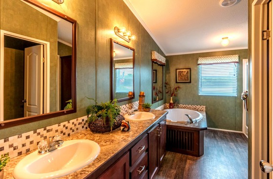 master bathroom glamour option