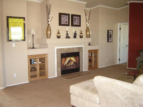 Relax by the Fireplace in the Open Living Area