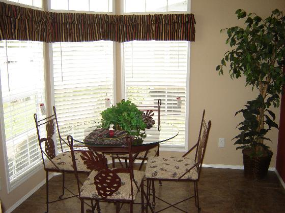 Second Dining Area with Large Windows!