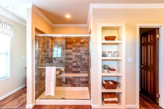 sonoma tiled shower bath