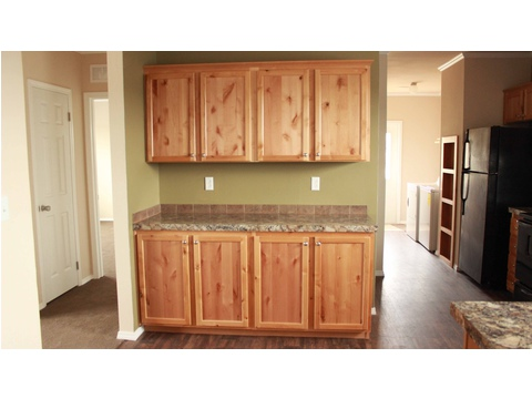 Large built-in buffet - The San Jacinto CSP352A3 by Palm Harbor Homes
