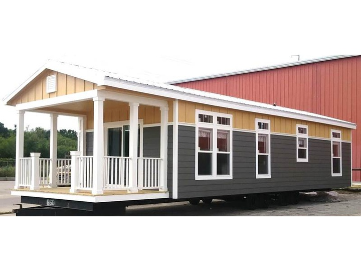 The Sunset Cottage I 16401B manufactured home floor plan or modular