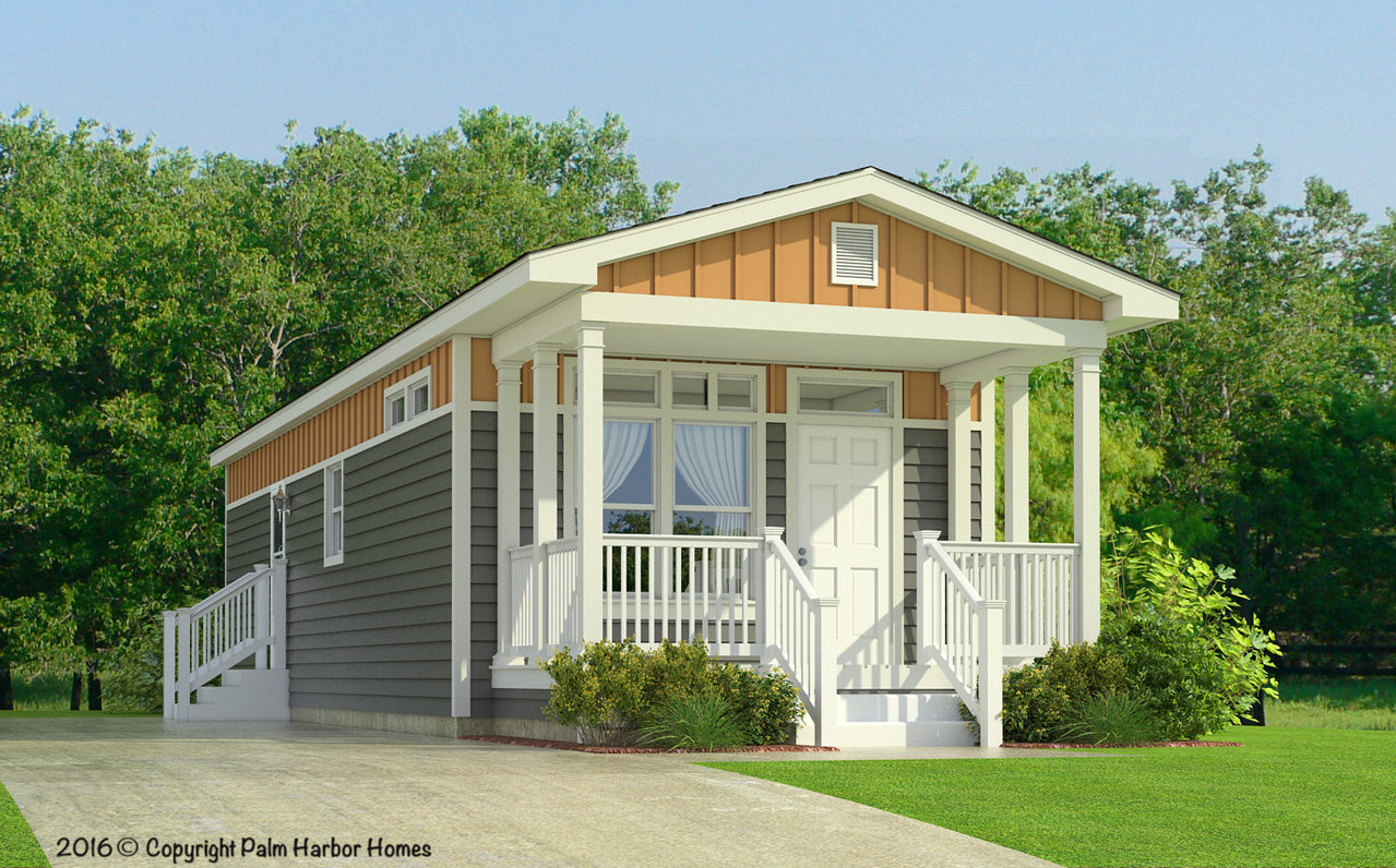 The Sunset Cottage I 16401b Manufactured Home Floor Plan