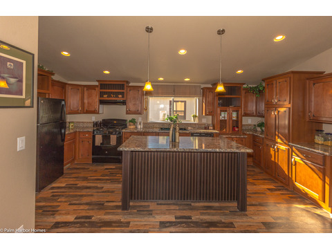 The kitchen has more than enough counter space! - The Monterey I LCD2857A, Palm Harbor Homes