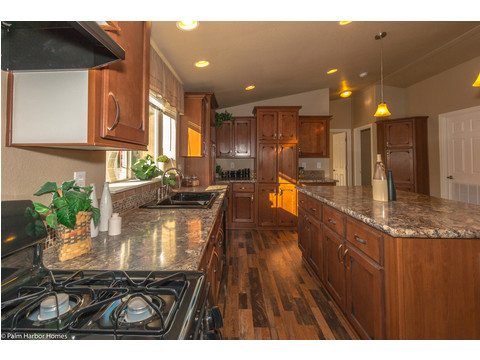Kitchen - The Monterey I LCD2857A, Palm Harbor Homes