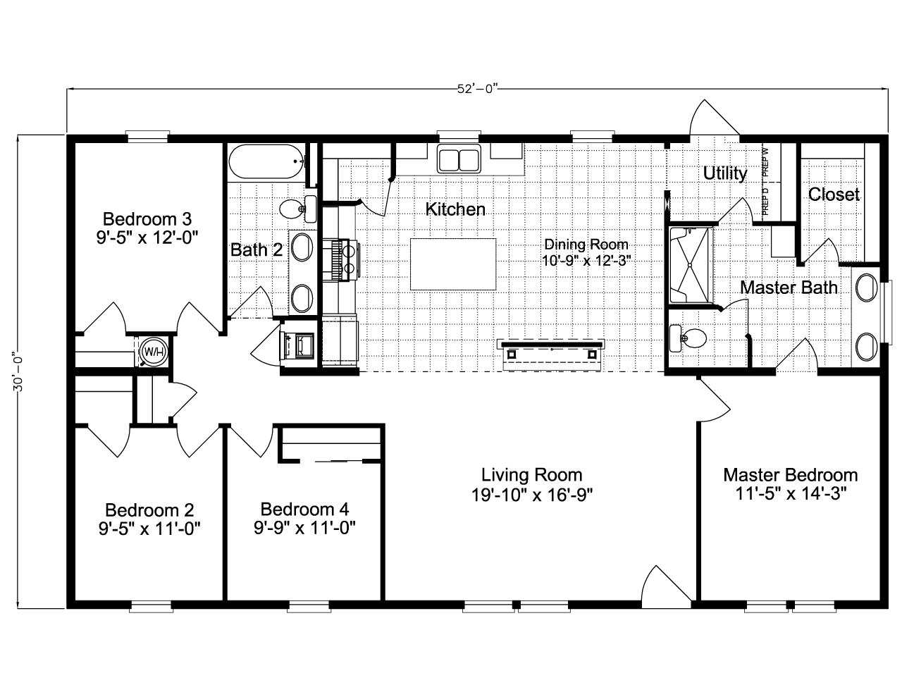 View st martin floor plan for a 1560 sq ft palm harbor for Home design resources