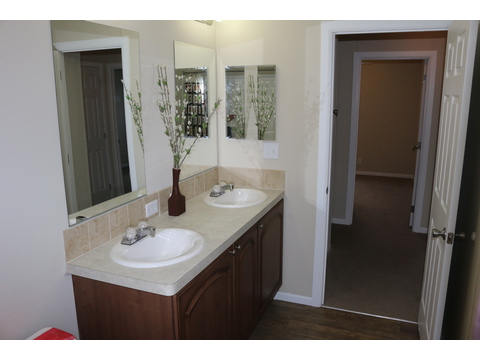 Guest bath - St Martin T4529D by Palm Harbor Homes