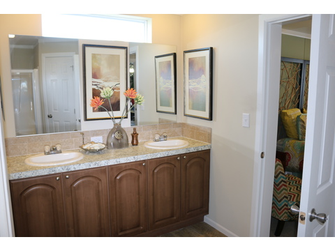 Master bath  - St Martin T4529D by Palm Harbor Homes