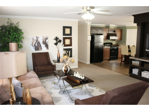 Living room - St Martin T4529D by Palm Harbor Homes