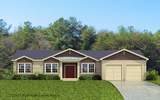 Craftsman Elevation - The Tuscany by Palm Harbor Homes