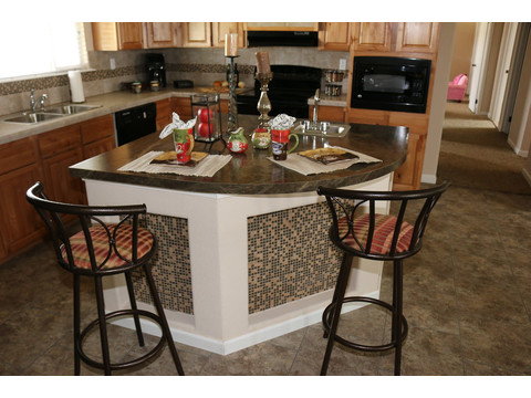 Grande Isle II Kitchen by Palm Harbor Homes - 4 Bedrooms, 2 Baths, 2,356 Sq. Ft.