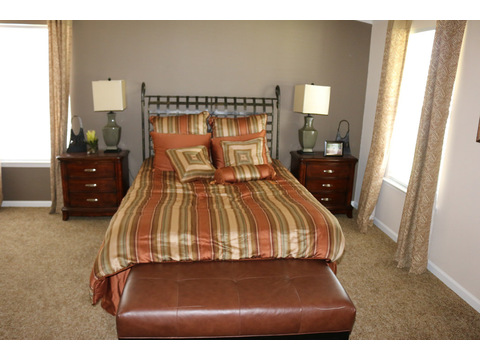 Grande Isle II Master Bedroom by Palm Harbor Homes - 4 Bedrooms, 2 Baths, 2,356 Sq. Ft.