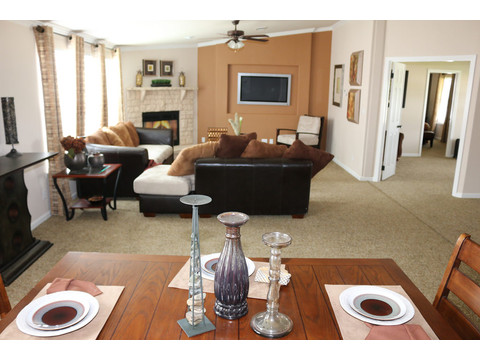 Grande Isle II Open Floor Plan by Palm Harbor Homes - 4 Bedrooms, 2 Baths, 2,356 Sq. Ft.