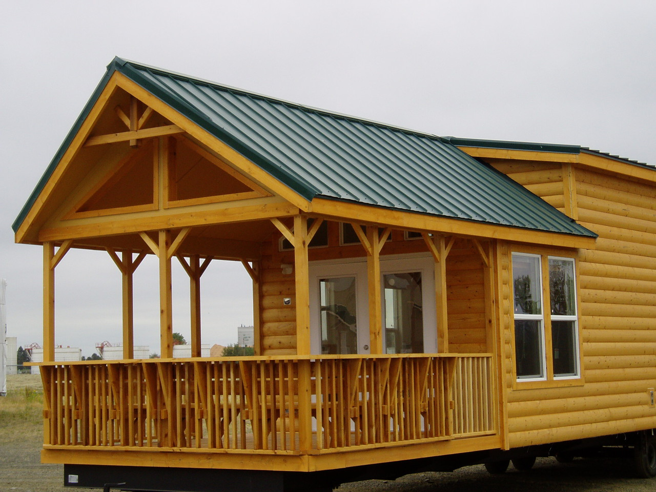 The cascade lodge lg12341a manufactured home floor plan or for Modular homes with lofts