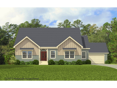 Craftsman Elevation - The Dalton by Palm Harbor Homes