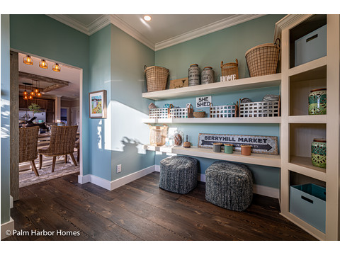 More pantry in the Estate Farmhouse LS30764A 3 Bedrooms, 2 Baths, 2,280 Sq. Ft. – By Palm Harbor Homes – Available in Florida ONLY – Not Alabama, Georgia or Mississippi.