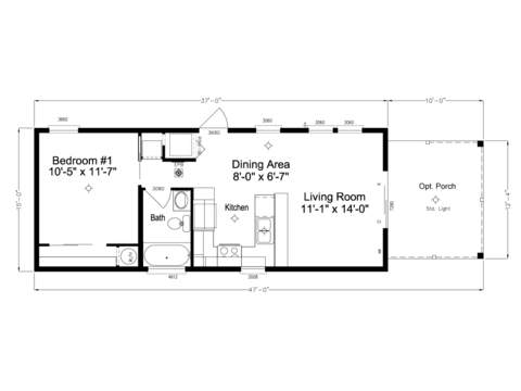 >Waverly LS15471A Floor Plan
