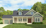 Craftsman Elevation - The Buckeye Opt. Dormer by Palm Harbor Homes