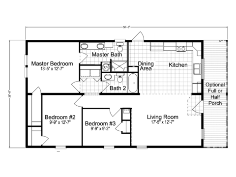 >Monet II Floor Plan