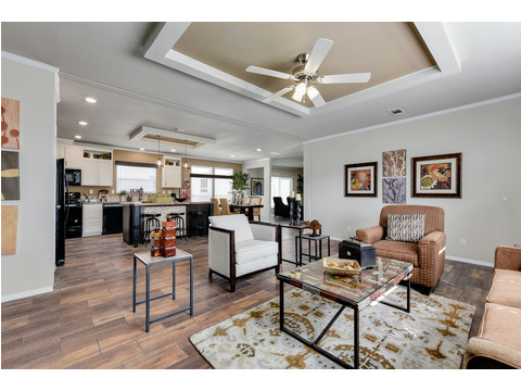 Open Concept Living Area - The Somerset III - 4 Bedroom, 3 Bath - 2356 sq. ft.