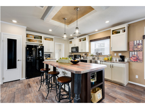 Large Kitchen Island - The Somerset III - 4 Bedroom, 3 Bath - 2356 sq. ft.