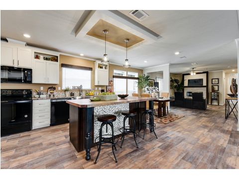 Spacious Kitchen - The Somerset III - 4 Bedroom, 3 Bath - 2356 sq. ft.