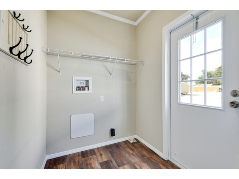 Mudroom/Laundry Room - The Somerset III - 4 Bedroom, 3 Bath - 2356 sq. ft.