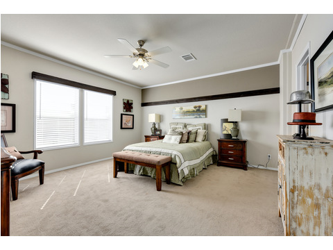 Master Bedroom - The Somerset III - 4 Bedroom, 3 Bath - 2356 sq. ft.