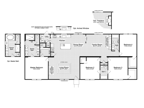 >The Somerset III FT32764I Floor Plan