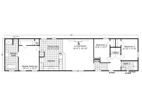 >The Southland SM18723S Floor Plan