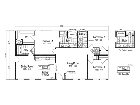 >The Prentis Floor Plan