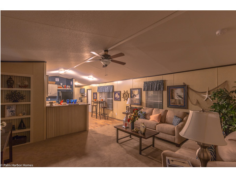 Enjoy a spacious living area with a great built in in The Horseshoe Bay - 3 Bedrooms, 2 Baths, 1,292 Sq. Ft.