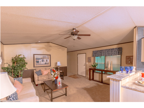 The living area in The Horseshoe Bay - 3 Bedrooms, 2 Baths, 1,292 Sq. Ft.