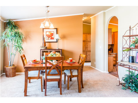 Formal dining room - The Bonanza SCTE64F1 by Palm Harbor Homes