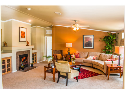 Living room - The Bonanza VR32643A by Palm Harbor Homes