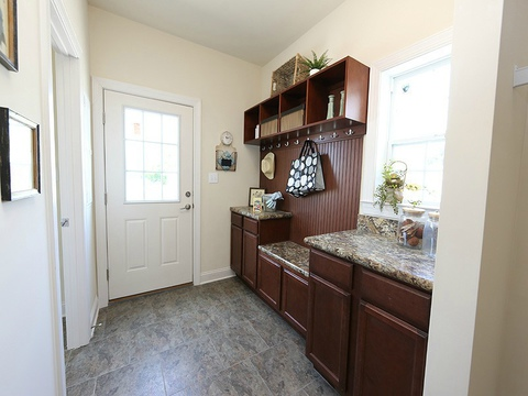 Utility room - The Buckeye II, 3 Bedrooms, 2 Baths, 3,145 Sq. Ft., modular Palm Harbor home built by Nationwide Homes