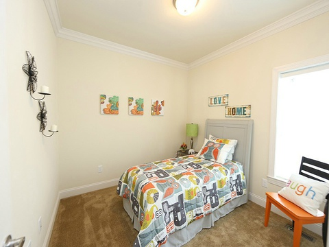 Bedroom 3 - The Buckeye II, 3 Bedrooms, 2 Baths, 3,145 Sq. Ft., modular Palm Harbor home built by Nationwide Homes