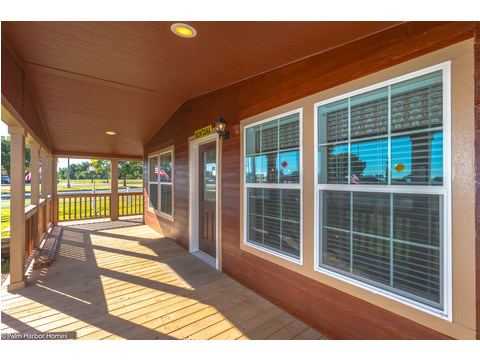 Gorgeous front porch - The Montana VR32663A by Palm Harbor Homes
