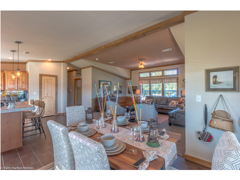 Dining room - The Montana VR32663A by Palm Harbor Homes