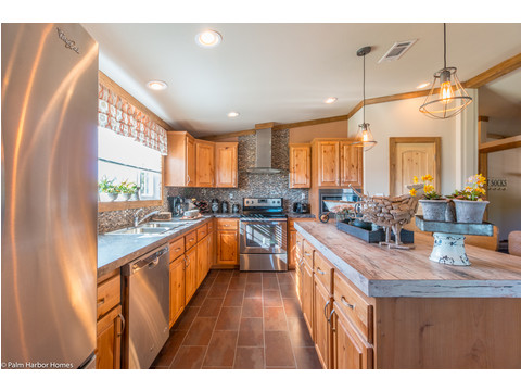 Kitchen - The Montana VR32663A by Palm Harbor Homes