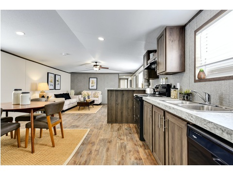 Kitchen and Dining Area Open Concept - The Limited PD 16763T - 3 Bedroom, 2 Bath - 1178 sq. ft.