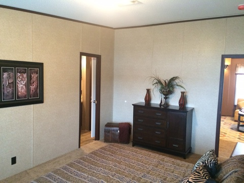 Guest master suite with its own private bathroom - Pecan Valley V Extra Wide KHV476B2 or ML34764P by Palm Harbor Homes