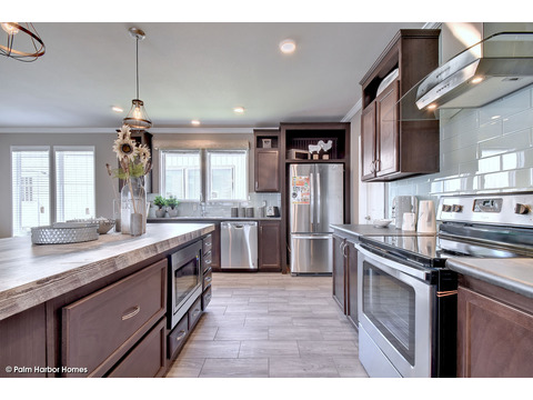 Kitchen - The Urban Homestead III FT32764F by Palm Harbor Homes