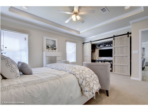 Master bedroom - The Urban Homestead III FT32764F by Palm Harbor Homes