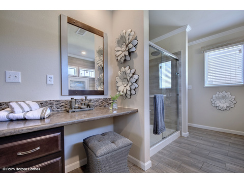Master bath - The Urban Homestead III FT32764F by Palm Harbor Homes