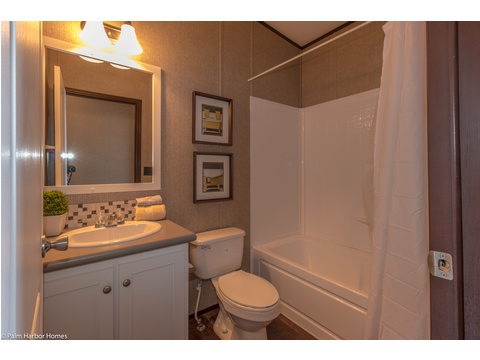 Guest bathroom - The Arlington ML30523A by Palm Harbor Homes