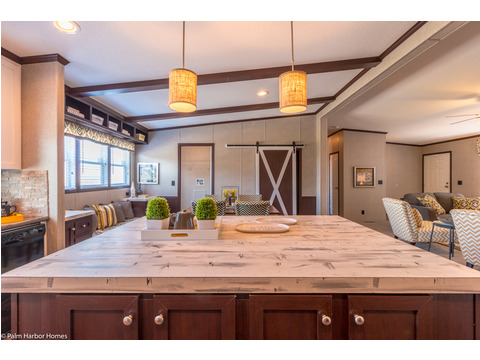 This huge kitchen island can be whatever you want it to be - The Arlington ML30523A by Palm Harbor Homes