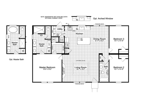 >The Somerset II FT32523B floor plan